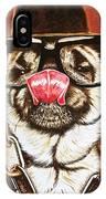Punk Pug IPhone Case