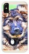 Puppy Oskar 2 IPhone Case