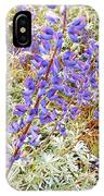 Pure Wild  Purple IPhone Case
