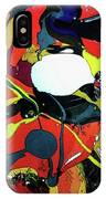 Purge Swirl 2 IPhone Case