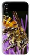 Purpel Nectar IPhone Case