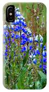 Purple And Grass IPhone Case