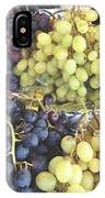 Purple And Green Grapes IPhone Case