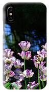 Purple And White Tulips - Photopainting IPhone Case