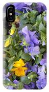 Purple And Yellow Flowers IPhone Case