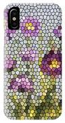 Purple Asters II  IPhone Case