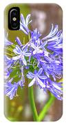 Purple Bells And Blossoms IPhone Case