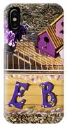 Purple Birdhouses 3 IPhone Case