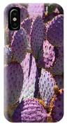Purple Cacti IPhone Case