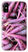 Purple Carrots Number 1 IPhone Case
