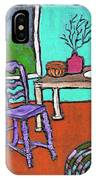 Purple Chair IPhone Case