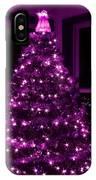 Purple Christmas IPhone Case