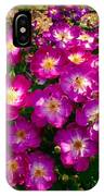 Purple Cluster 2 IPhone Case