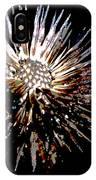 Purple Coneflower Seed Head IPhone Case
