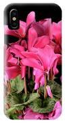 Purple Cyclamen IPhone Case