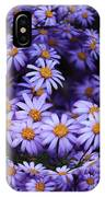 Purple Daisy Abstract IPhone Case