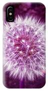 Purple Dandy IPhone Case