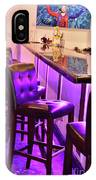 Purple Electric IPhone Case