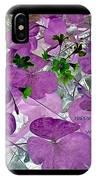 Purple Flower Wishes IPhone Case
