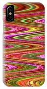 Purple Flowers Abstract IPhone Case