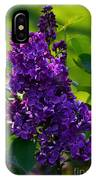 Purple French Lilac IPhone Case