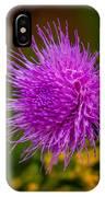Purple Fringe IPhone Case