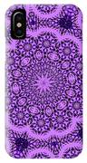 Purple Geek Kaleidoscope Five IPhone Case
