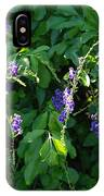 Purple Hanging Flowers IPhone Case