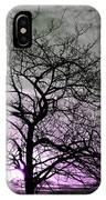 Purple Haze Across The Sky IPhone Case