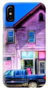 Purple House IPhone Case