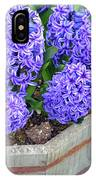 Purple Hyacinth Flowers Planter IPhone Case