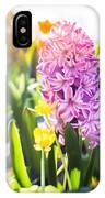 Purple Hyacinth IPhone Case