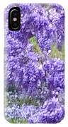 Purple Impression  IPhone Case