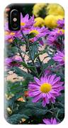 Purple In Garden IPhone Case