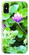 Purple In Greenery IPhone Case