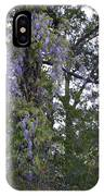 Purple In The Trees IPhone Case