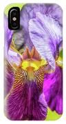 Purple Iris 2018 IPhone Case