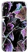 Purple Ivy IPhone Case