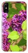 Purple Lilac IPhone X Case