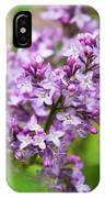 Purple Lilac Flowers IPhone Case