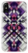 Purple Maze IPhone Case