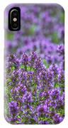 Purple Meadow 3 IPhone Case