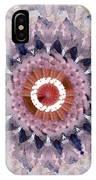 Purple Mosaic Mandala - Abstract Art By Linda Woods IPhone Case
