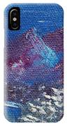 Purple Mountain Landscape IPhone Case