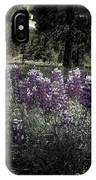 Purple On The Forest Floor IPhone Case