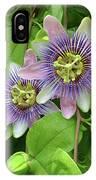 Purple Passion Vine IPhone Case