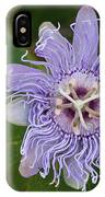 Purple Passionflower #2 IPhone Case
