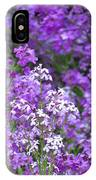 Purple Profusion IPhone Case