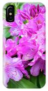 Purple Rhododendron IPhone Case