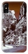 Purple Mount Rushmore Vision IPhone Case